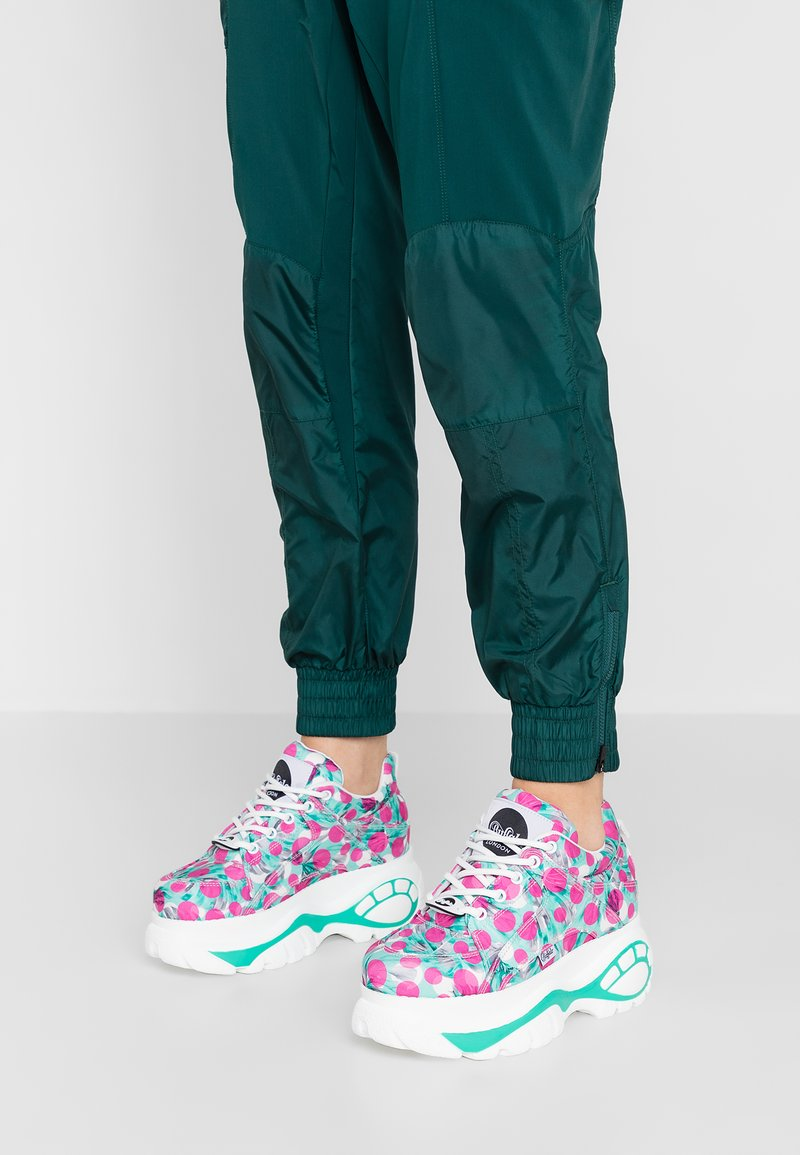 Buffalo London - Sneaker low - fuchsia/mint