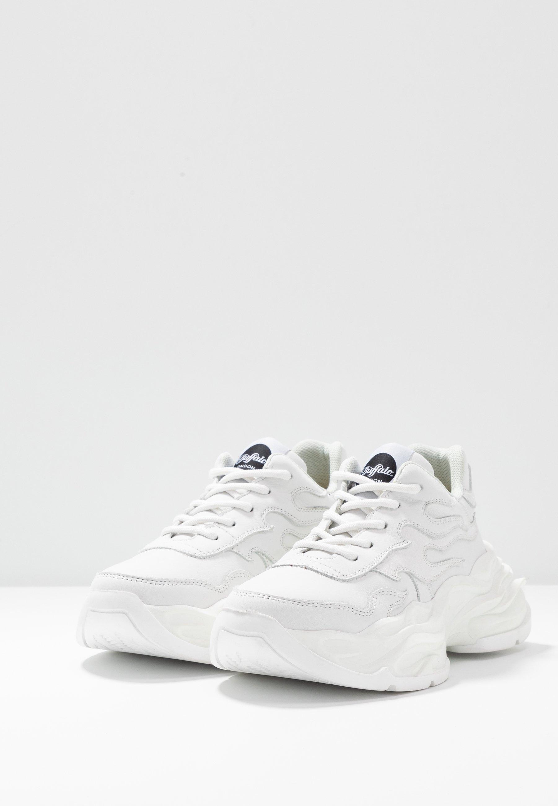 Buffalo London EYZA - Sneakersy niskie - white
