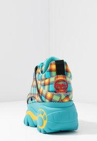 Buffalo London - Sneakers - turquoise/yellow/black/red - 5