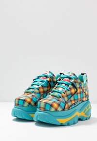 Buffalo London - Trainers - turquoise/yellow/black/red - 4