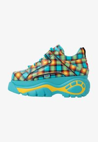Buffalo London - Trainers - turquoise/yellow/black/red - 1