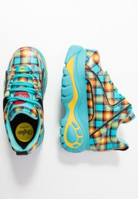 Buffalo London - Sneakers - turquoise/yellow/black/red - 3