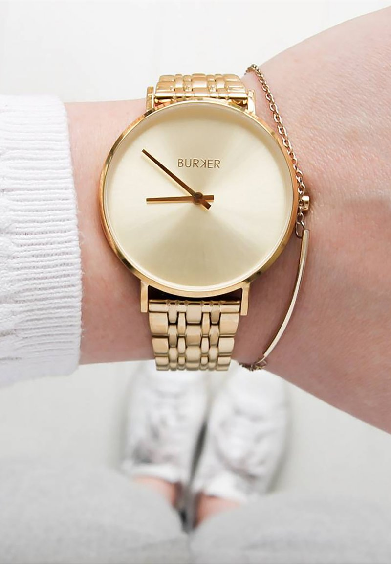 Burker - NANCY - Uhr - gold-coloured