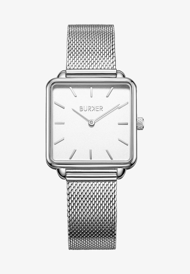 Uhr - silver/white