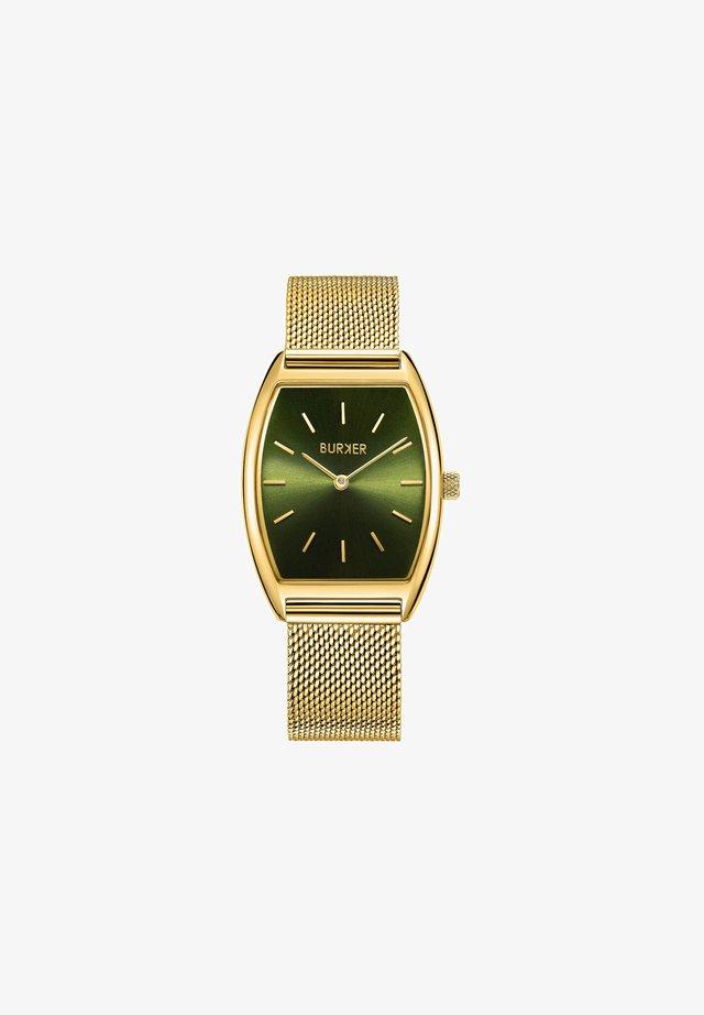 MEGAN GOLD GREEN - Uhr - gold