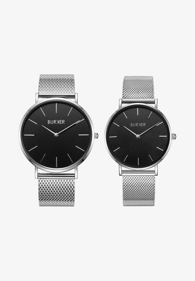 SET - Uhr - silver