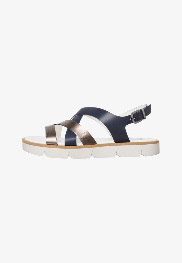 STYLE ELLA - Sandals - navy