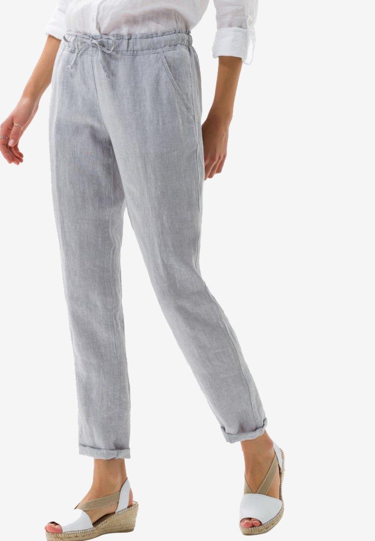 BRAX - STYLE MORRIS - Stoffhose - silver grey