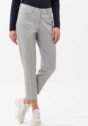 STYLE MARA S - Trousers - grey melange