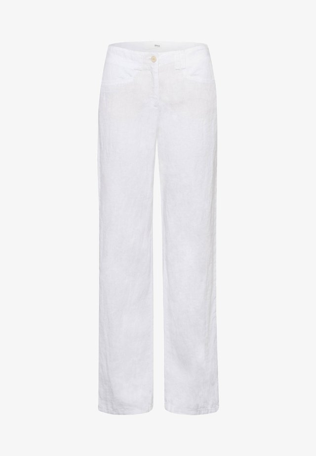 FARINA - Trousers - white
