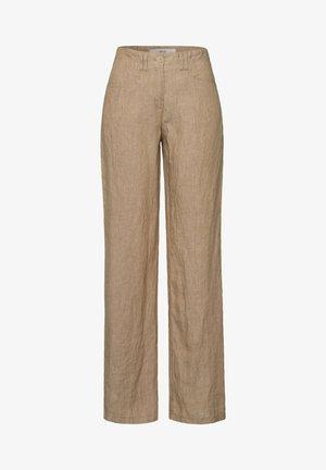 FARINA - Trousers - sand