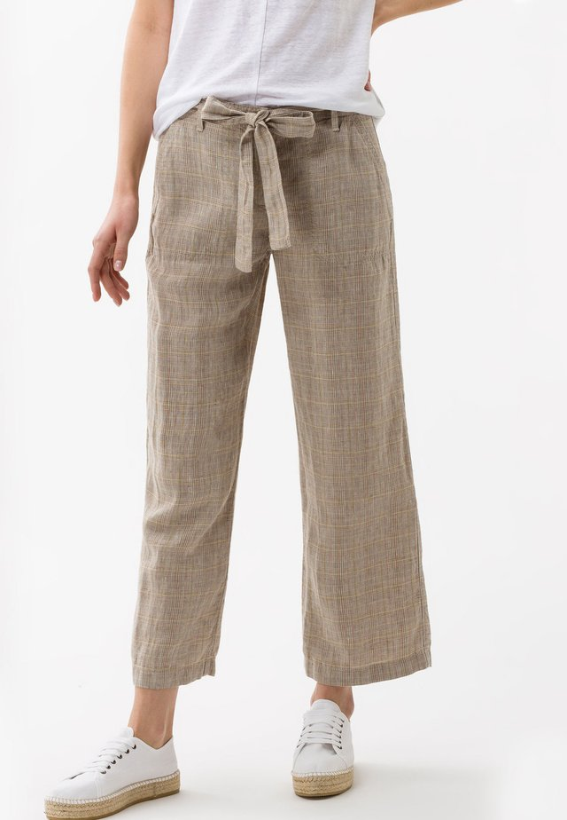 STYLE MAINE - Trousers - sand