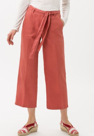 STYLE MAINE - Trousers - rosewood