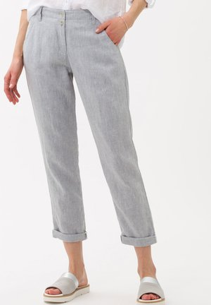 STYLE MELO - Trousers - grey melange