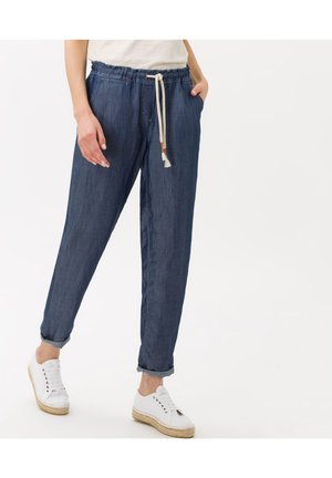 Trousers - clean regular blue