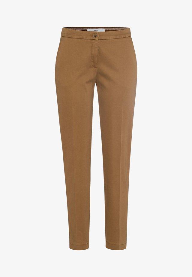 STYLE MARON - Pantaloni - walnut