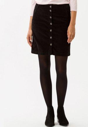 STYLE KIM - A-snit nederdel/ A-formede nederdele - black