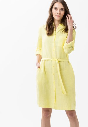 GILLIAN - Shirt dress - yellow