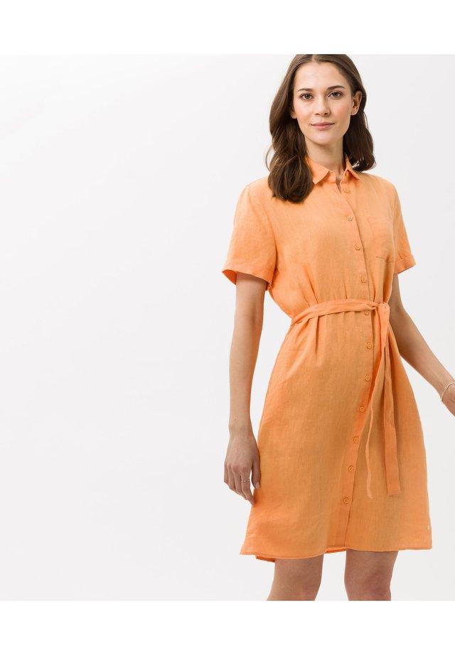 Korte jurk - peach