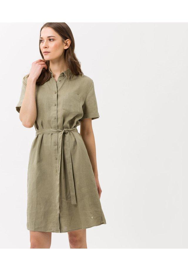 Korte jurk - khaki