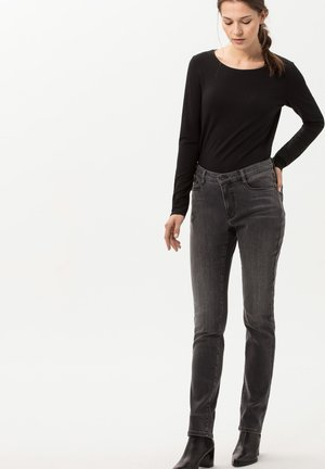 STYLE CARINA - Long sleeved top - black