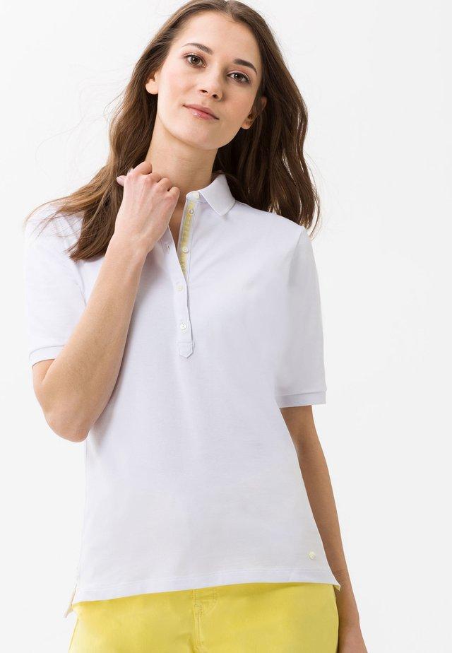 STYLE CLEO - Poloshirts - white