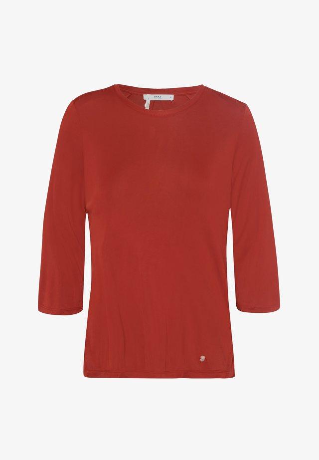 STYLE CLARA - Maglietta a manica lunga - cinnamon