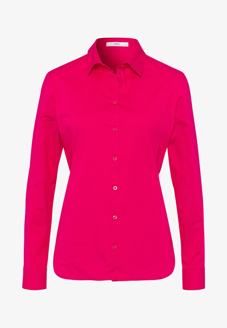 BRAX - STYLE VICTORIA - Button-down blouse - raspberry