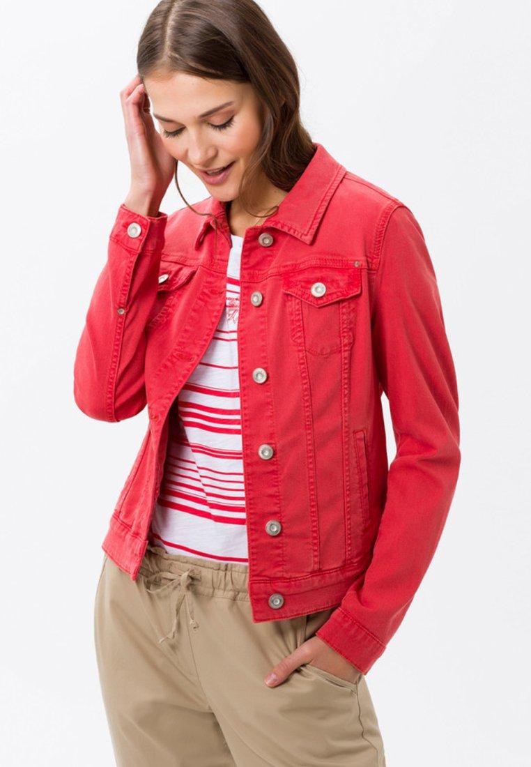 BRAX - MIAMI - Jeansjacke - summer red