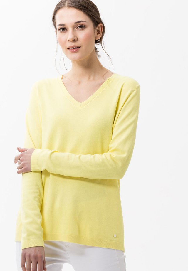 STYLE LANA - Trui - yellow