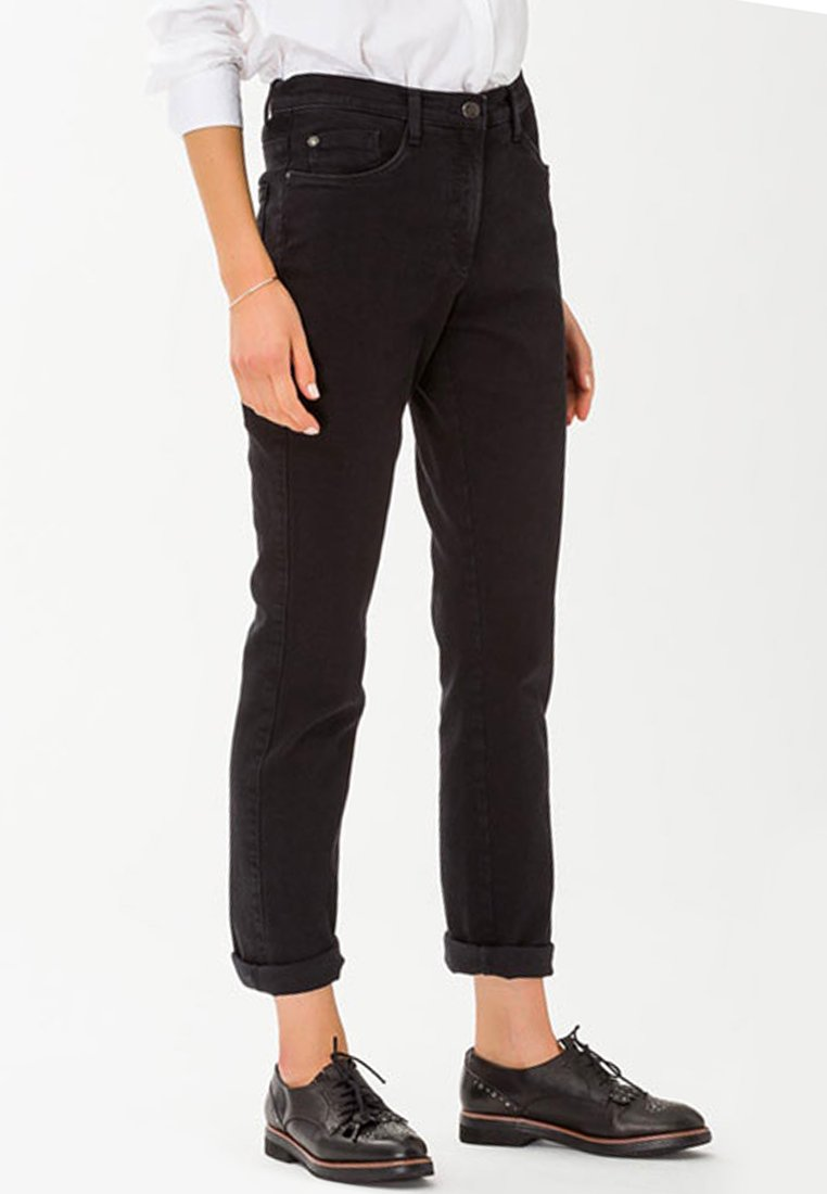 BRAX - MARY  - Straight leg jeans - black