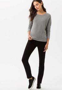 BRAX - STYLE MARY - Slim fit jeans - black - 0