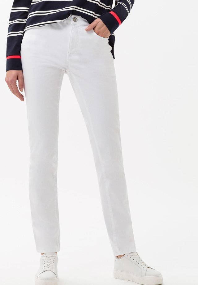 STYLE MARY - Jeans Slim Fit - white
