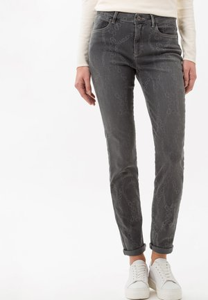 STYLE SHAKIRA - Jeans slim fit - laser chain grey