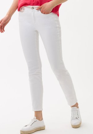 STYLE SPICE S - Slim fit jeans - white