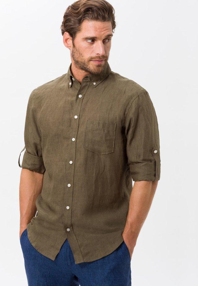 STYLE DIRK - Overhemd - kahki