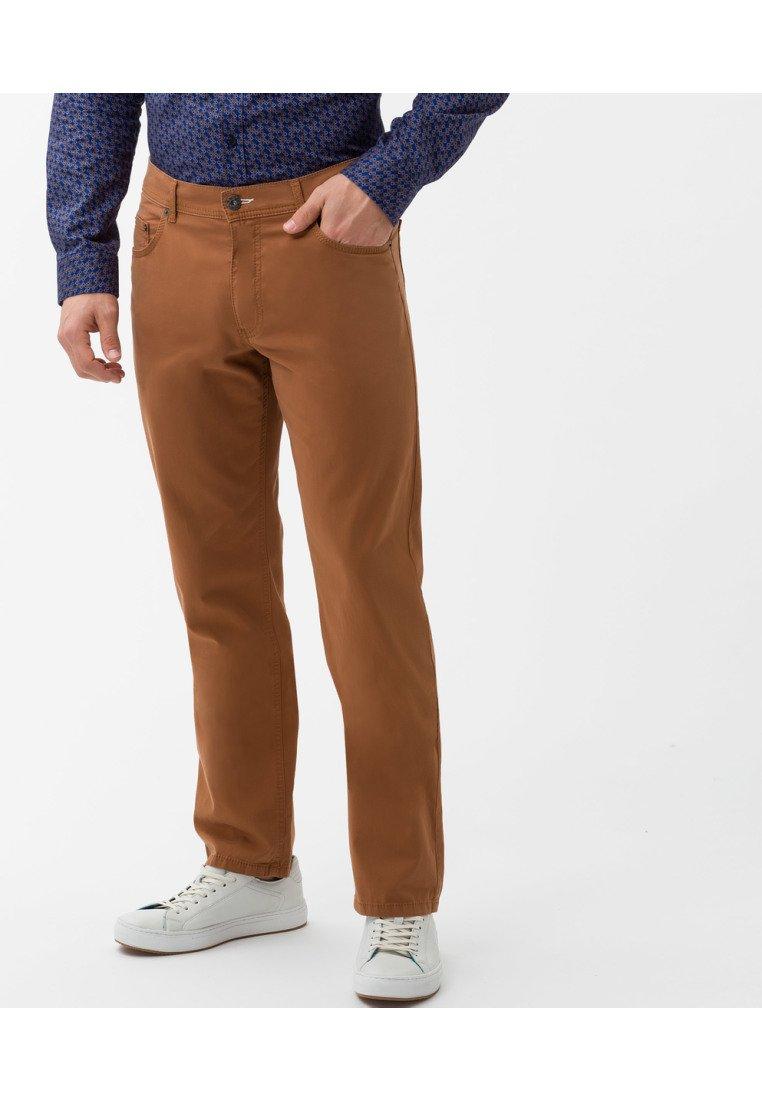 BRAX - STYLE COOPER  - Straight leg jeans - caramel