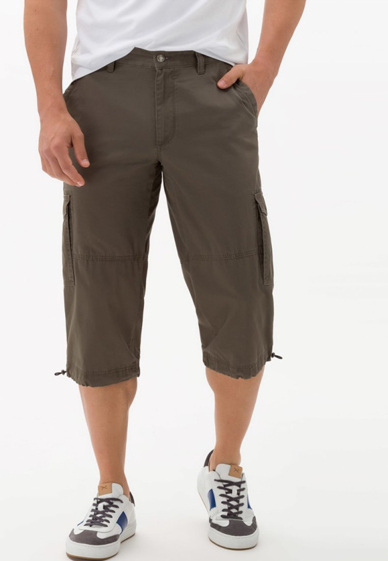 BRAX - STYLE LUCKY - Shorts - khaki