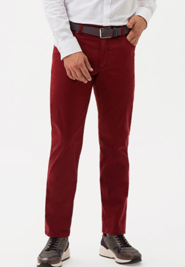BRAX - STYLE COOPER - Straight leg jeans - red