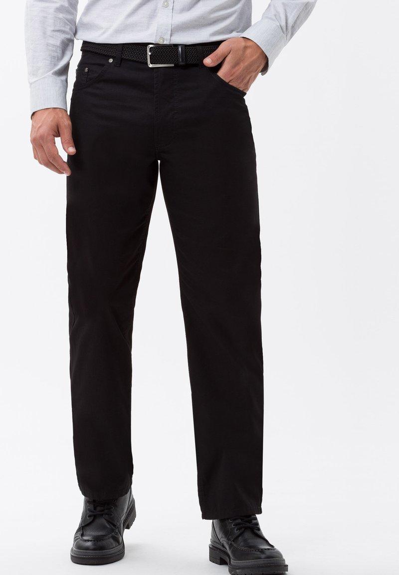BRAX - STYLE CARLOS - Jeans Straight Leg - perma black