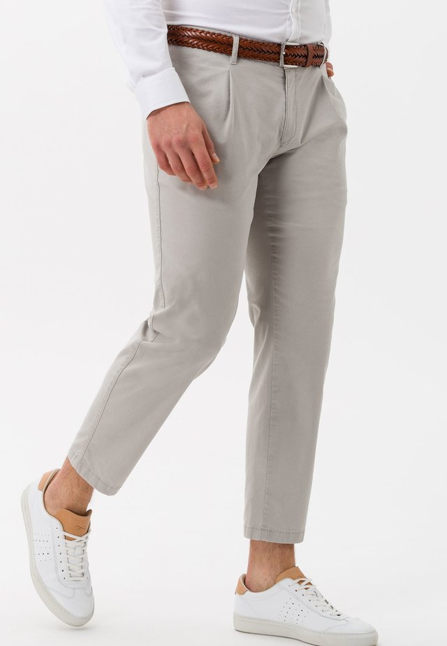 STYLE PAUL - Trousers - stone