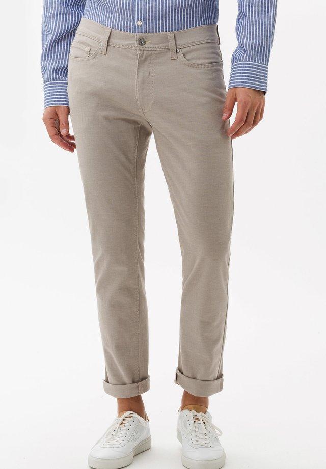 STYLE CADIZ - Trousers - beige