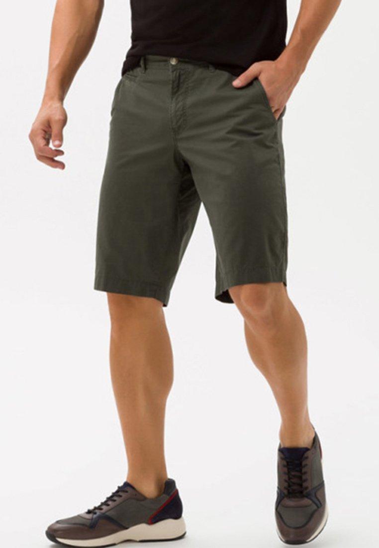 BRAX - STYLE BARI - Shorts - avocado