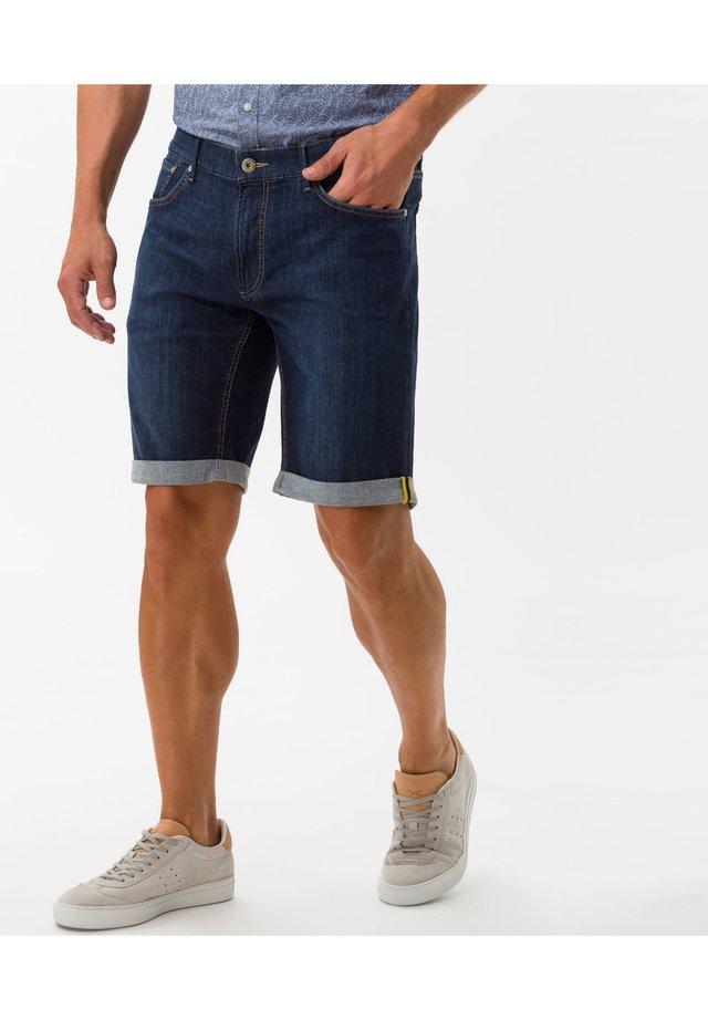 Jeans Short / cowboy shorts - dark blue used