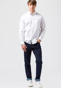 BRAX - COOPER  - Jeans Straight Leg - blue black - 1