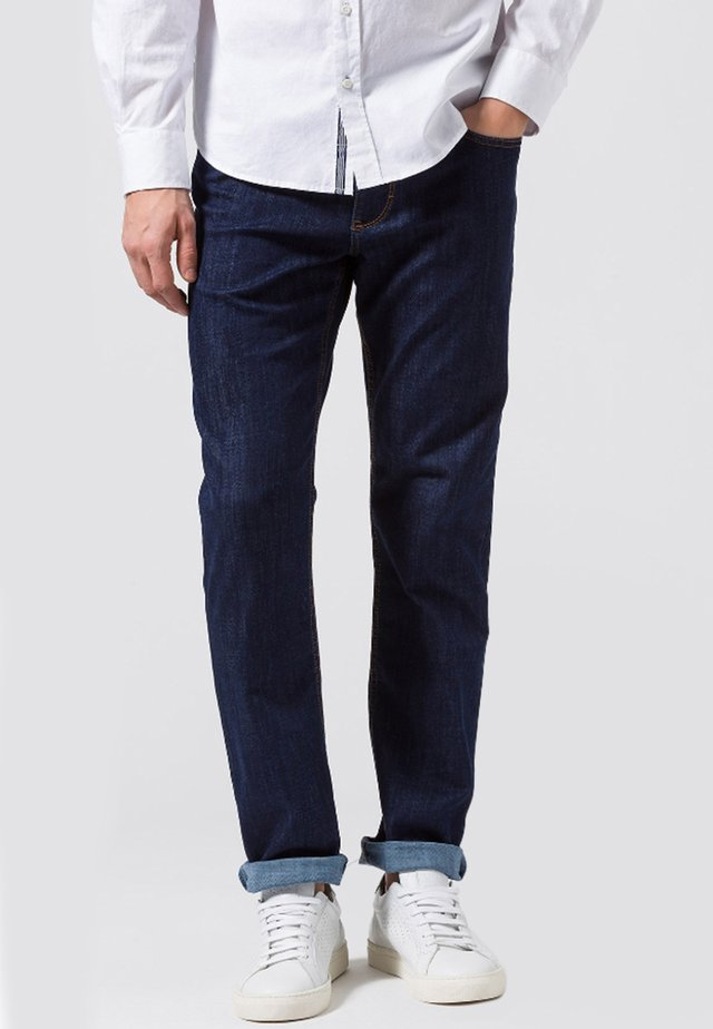COOPER  - Jeans Straight Leg - blue black