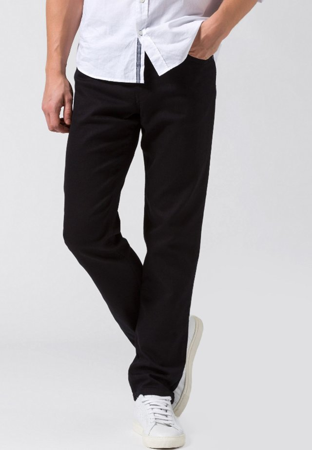 COOPER  - Straight leg jeans -  black