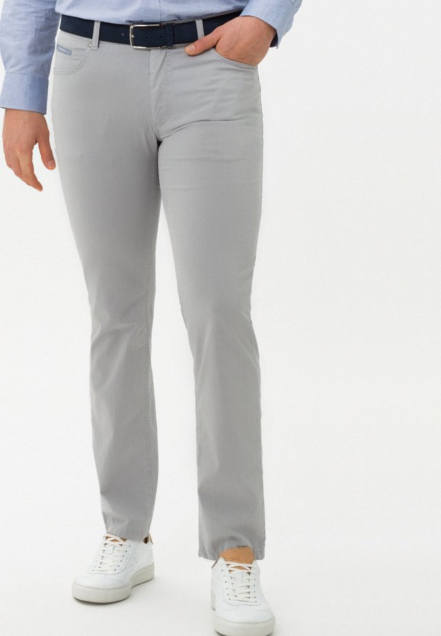 STYLE COOPER C - Stoffhose - silver