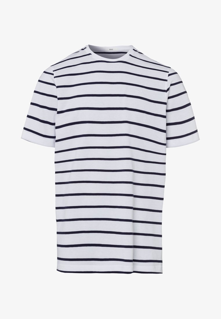 BRAX - STYLE TROY - Print T-shirt - white