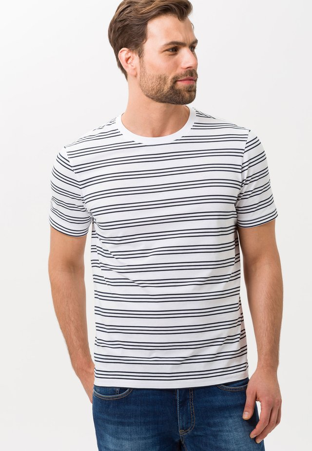 STYLE TROY - T-shirts print - white